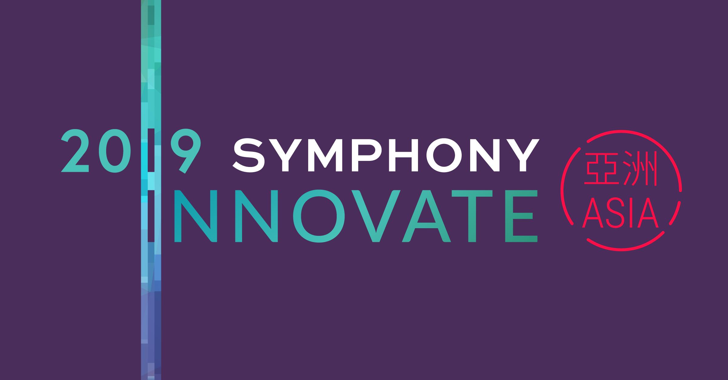 Symphony Innovate Asia 2019