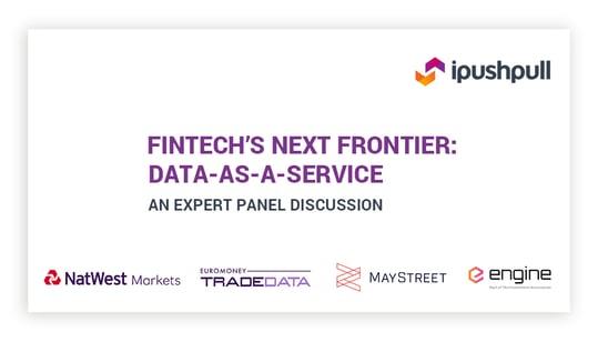 Fintech's next frontier: Data-as-a-Service